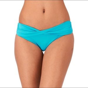 Seafolly Other - Seafolly Twist Band Bikini Bottom, Iceberg