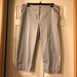 Sunny Leigh Gray Crop Pants