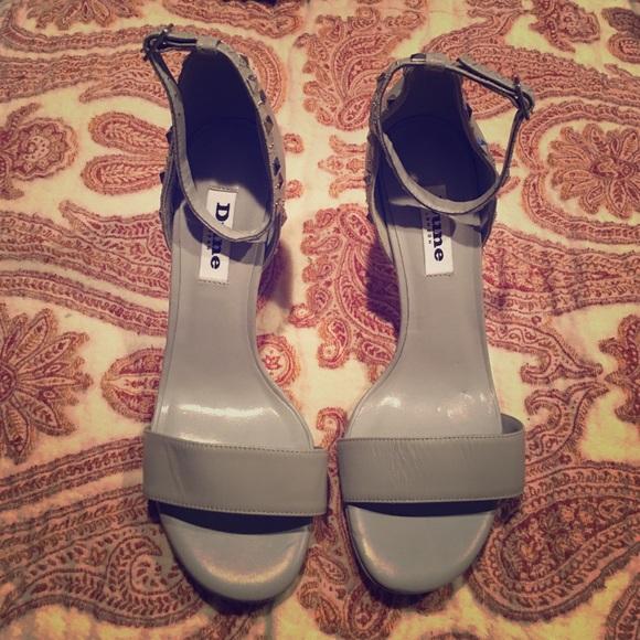 a4de9db72c57 Dune London gray heels.📍FINAL price.