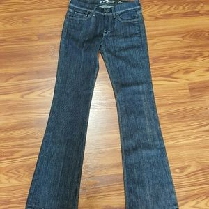 7 For All Mankind Flynt Jeans 26x32