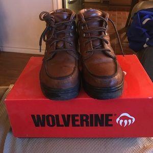 Wolverine Steel Toe work boots!