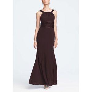 David's Bridal Dresses & Skirts - Chiffon Bridesmaid/Prom Gown EUC