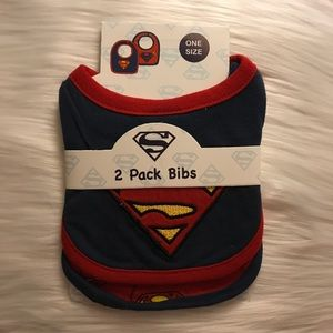 Other - 2 pack of Superman Bibs