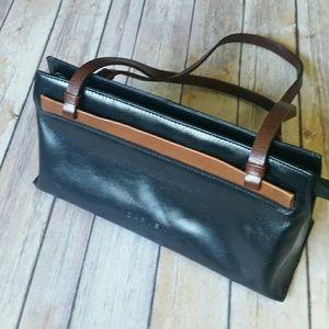 Carven Handbags - CARVEN PARIS vintage leather bag