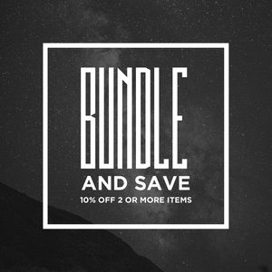 Other - Bundle: 10% off 2+ items