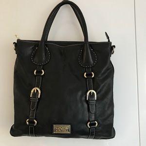 Badgley Mischka Handbags - Badgley Mischka Kara top handle bag 🇮🇹 leather
