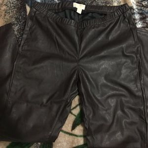 Mk brown leggings
