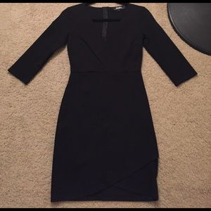 Lulus black mini dress