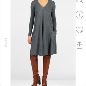 eshakti Dresses & Skirts - Eshakti Gray Tunic/Dress