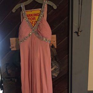 Dresses & Skirts - Light pink coral prom dress