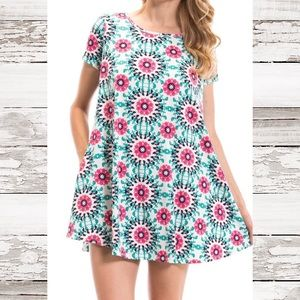 Peach Love California Dresses & Skirts - Printed Pocket Dress