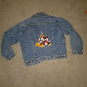 Disney Jackets & Blazers - ☇ sale ! Vintage! Disney Mickey mouse Jean  jacket