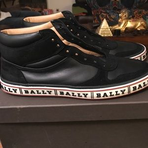 Other - Mid top bally sneaker