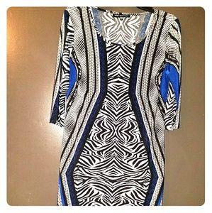 Dresses & Skirts - Beautiful zebra print dress