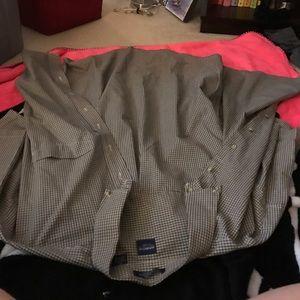 Arrow Other - Like new arrow oxford plaid shirt sleeved XL mens