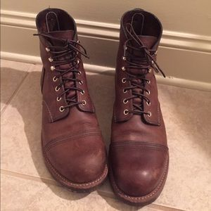 Red Wing Shoes Other - Authentic Redwing Iron Ranger Boots, Amber