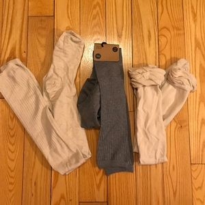 Lot of over the knee socks from urban outfitters