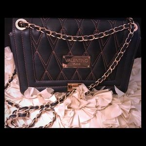 Authentic Valentino Alice quilted shoulder bag