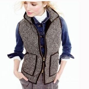 J.crew factory herringbone vest