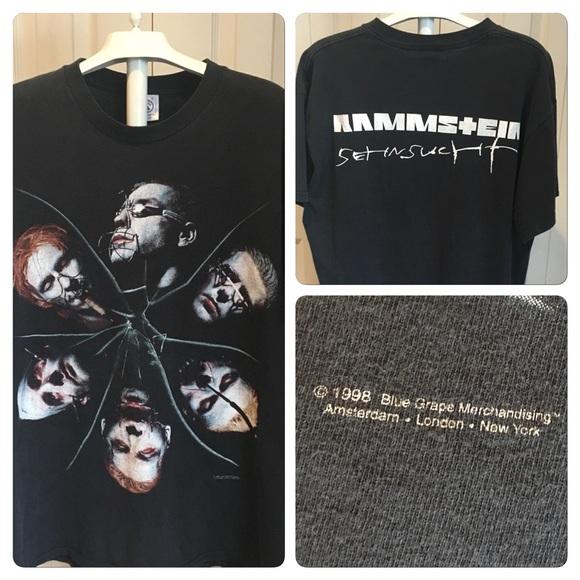 Rammstein Du Vintage T Hast Poshmark Shirt ShirtsVtg v0OmwynN8