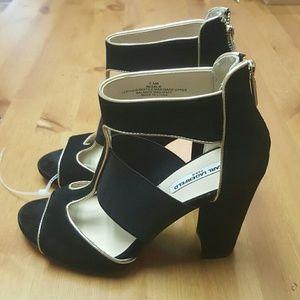 Karl Lagerfeld Shoes - Karl Lagerfeld Paris Rosalie Suede Platform Sandal