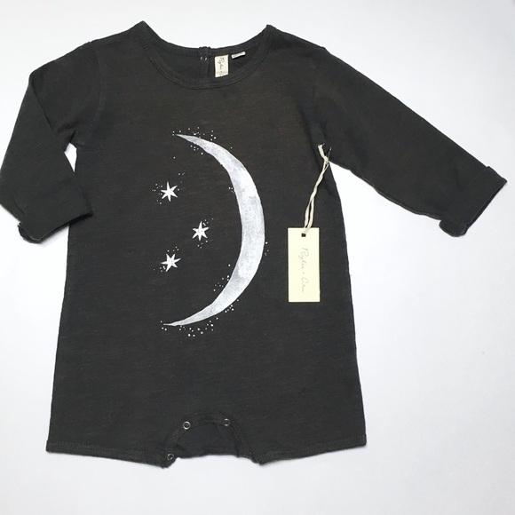f458c47157c Rylee   Cru Organic Moon   Stars Romper