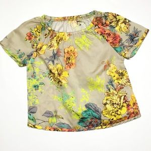 Anthem of the Ants Other - Anthem of the Ants Floral Boho Peasant Blouse