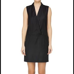 MM6 MAISON MARTIN MARGIELA BLACK TUXEDO DRESS
