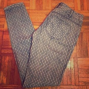 Free People Print Jeans Size 26