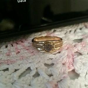 Harley-Davidson Jewelry - Harley Davidson Ring Band 10k gold