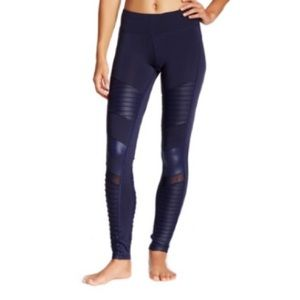 Electric Yoga Pants - SALE! Electric Yoga Motorcycle Pants - Navy