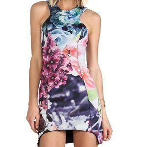 Shakuhachi Dresses & Skirts - Shakuhachi Nasty Gal Flowerbomb BodyCon Dress US 4
