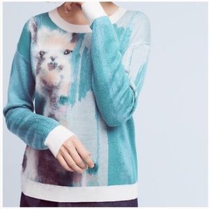 Anthropologie Sweaters - 🆕LISTING!  ANTHROPOLOGIE Llama Sweater.