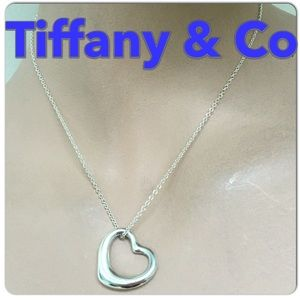 🔴Authentic Tiffany & Co, Elsa Peretti Heart Necklace