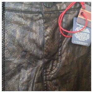 Liverpool Jeans Company Denim - NWT Liverpool Waxed Sadie Straight 12/31