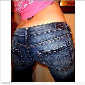 Silver Jeans Denim - SILVER Low SUKI Stretch Boot BUCKLE Jeans! 29 x 35