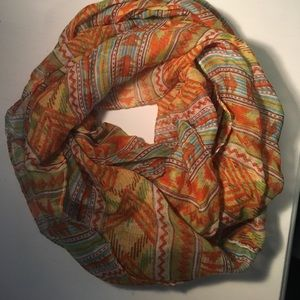 Accessories - Aztec colorful infinity scarf