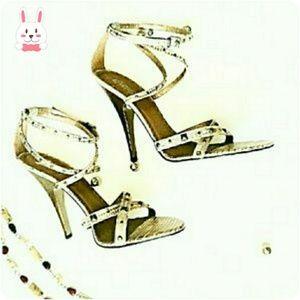 Carlos Santana Shoes - 🐰Carlos Santana Studs & Straps Heels