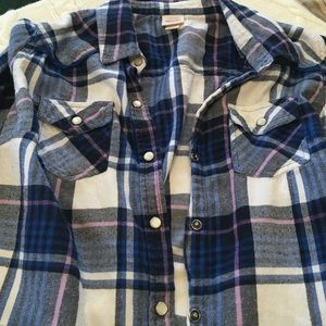 Mossimo Supply Co. Tops - Mossimo Flannel