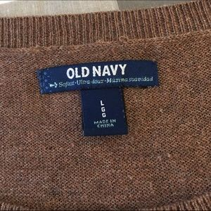 Old Navy Sweaters - Old Navy Brown & Orange Fox Sweater - Size Large