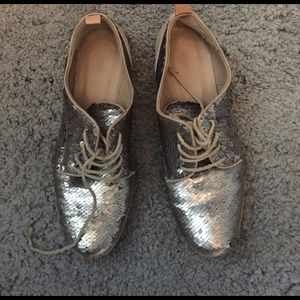 Hoss preowned sequin shoes size 36