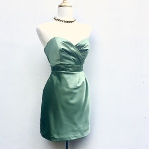 Alfred Angelo Dresses & Skirts - Sweetheart Formal Dress in Frosted Sage