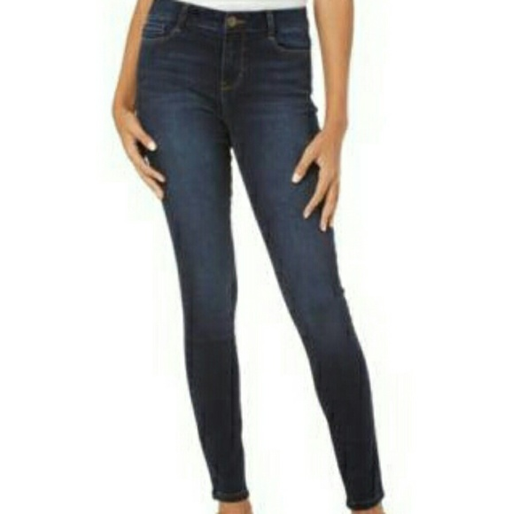 Miss Poured In Blue Women Black Jeans 10