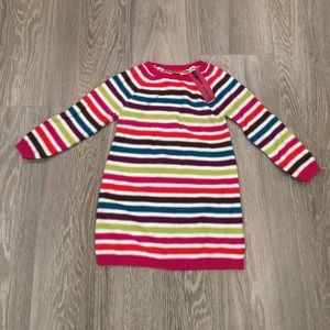 Tea Collection Other - Tea Collection Gingerbread Stripe Sweater Dress