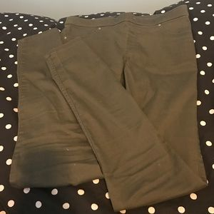 H&M Army Green Trouser Leggings