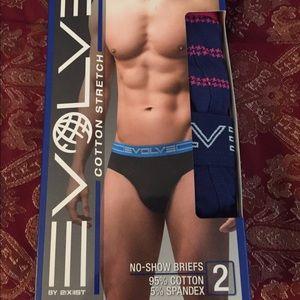 2xist Other - Men's Evolve Cotton Stretch Briefs Underwear 2pk
