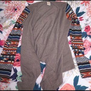 Flying Tomato Sweaters - Aztec Pattern Cardigan
