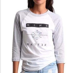 Neoclassics Tops - Mind Over Matter Sacred Geometry Baseball Tee