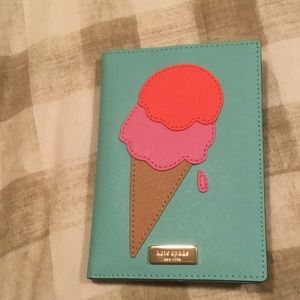 Kate Spade Passport Cover & Card Case NEW