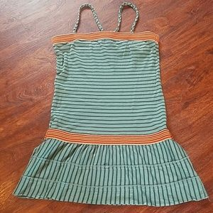 Free People Striped Sun-Dress